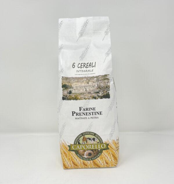 Farina sei cereali macinata a pietra