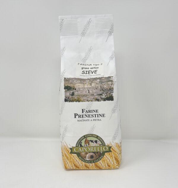 Farina di grano antico sieve