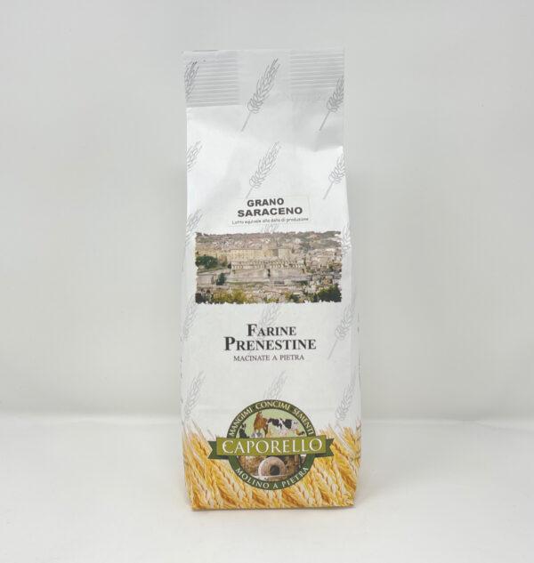 Farina di grano saraceno macinata a pietra